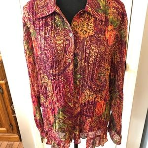 Cold water Creek blouse in multiple colors